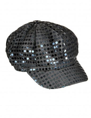 Pailletten-Mütze Disco für Erwachsene-1