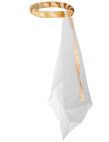 Goldene mittelalterliche Kopfbedeckung für Mädchen-1