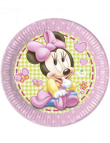 8 Pappteller Minnie Maus™