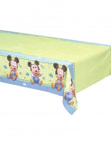 Baby Mickey Kunststoff-Tischdecke
