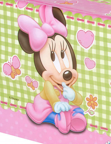 Kunststoff-Tischdecke Baby Minnie™-1