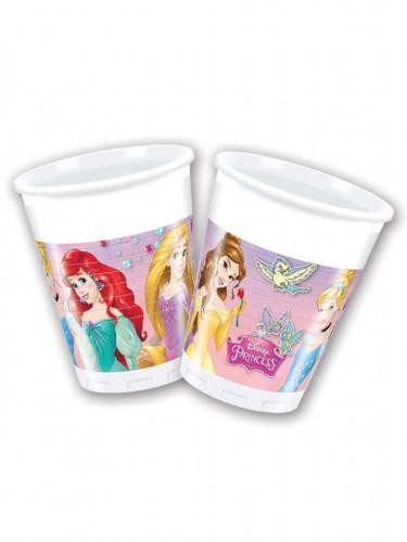 8 Disney Prinzessinnen™ Plastikbecher