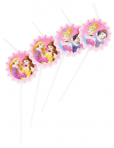 6 Disney Prinzessinnen™ Strohhalme