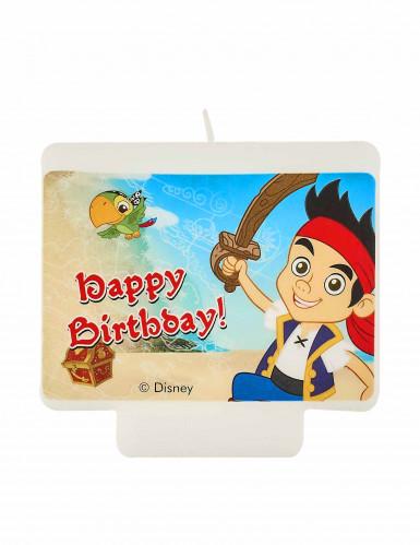 Jake und die Nimmerland Piraten™ Happy-Birthday-Kerze bunt