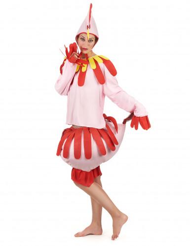 Kostüm Huhn für Erwachsene-1