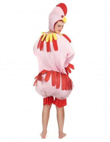 Kostüm Huhn für Erwachsene-2