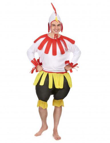 Hahn-Kostüm für Erwachsene