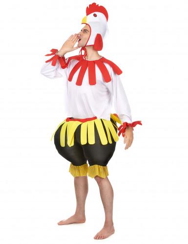 Hahn-Kostüm für Erwachsene-1