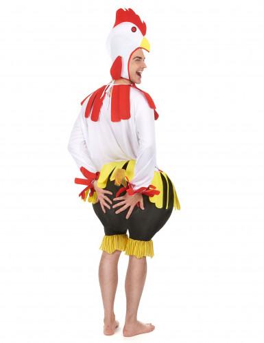 Hahn-Kostüm für Erwachsene-2
