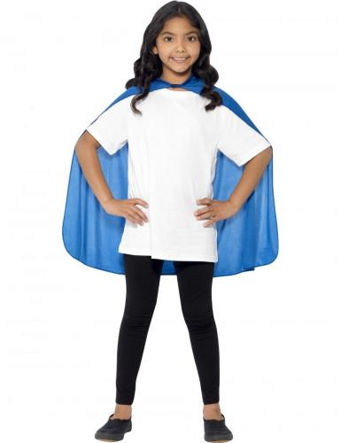 Blauer Umhang für Kinder-1