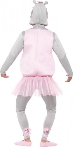 Verkleidung Nilpferd-Ballerina für Erwachsene-2