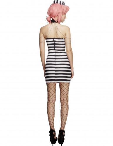 Sexy Gefangenen-Kleid für Damen-1