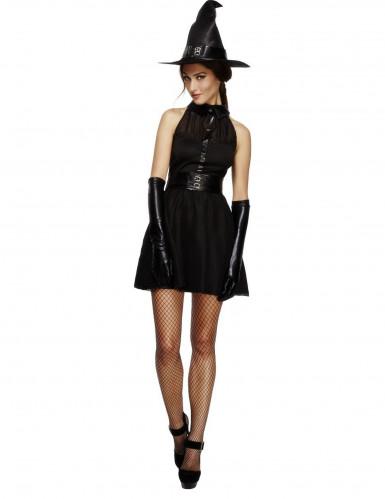 Kostüm Schwarze Hexe für Damen