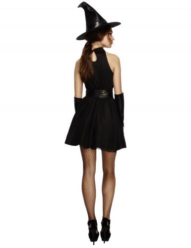 Kostüm Schwarze Hexe für Damen-1