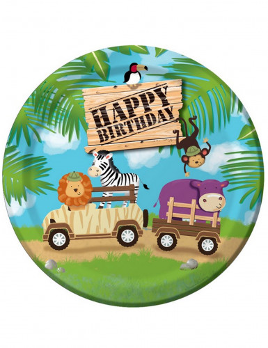 8 Partyteller Safari Abenteuer