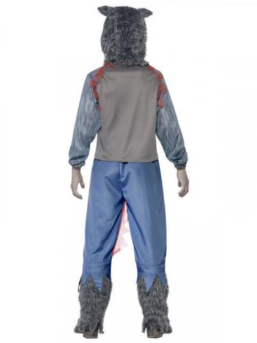 Halloween Kostüm Blutiger Werwolf für Jungen-1