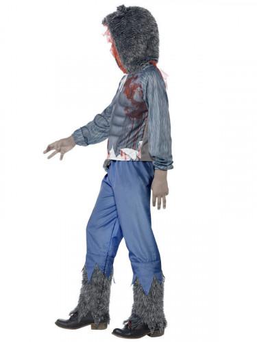 Halloween Kostüm Blutiger Werwolf für Jungen-2