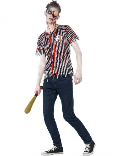 Halloween-Zombie-Kostüm Baseballspieler