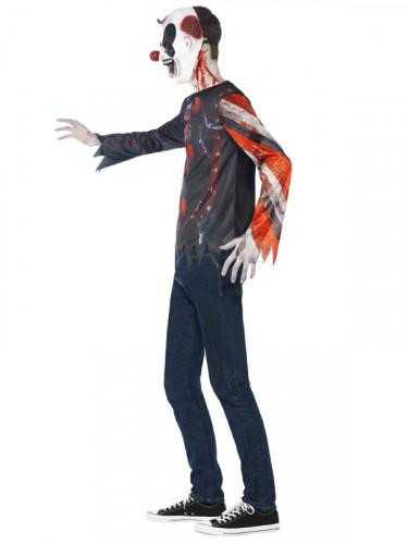 Gruseliges Clown-Kostüm für Halloween für Erwachsene-2