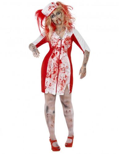 Zombie-Krankenschwester Kostüm Plus Size für Damen