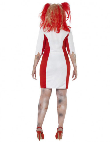 Zombie-Krankenschwester Kostüm Plus Size für Damen-2