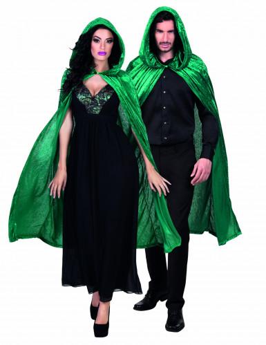 Wunderschöner grüner Vampirumhang