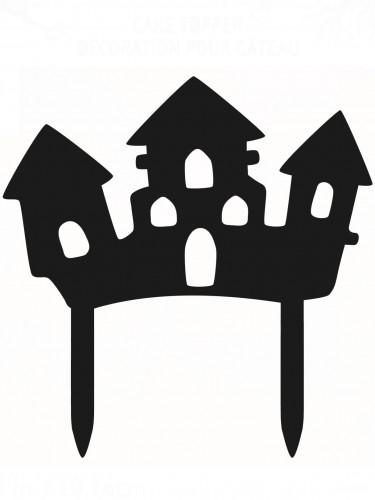 Halloween Dekoration für Kuchen Spukschloss
