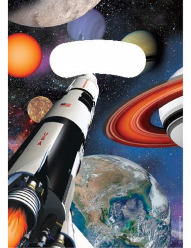 8 Weltraum Geschenktüten