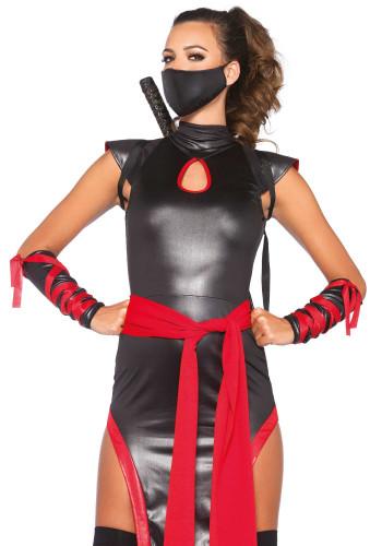 Ninja-Kostüm für Damen-1