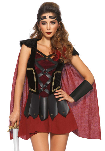 Kostüm Römische Kriegerin für Damen-1