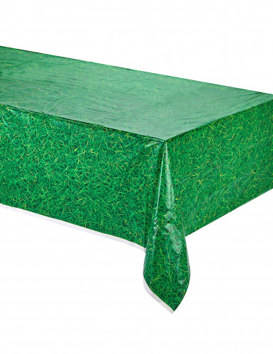 Grüne Gras Tischdecke