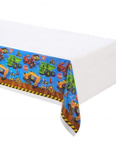 Plastik Tischdecke Baustelle 137 x 274 cm