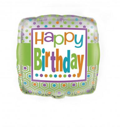 Alu-Luftballon Geburtstag - Frühling