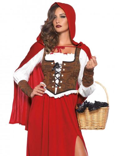 Rotkäppchen-Kostüm für Damen-1