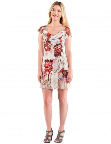 Zombie Halloween Kostüm Kleid für Frauen