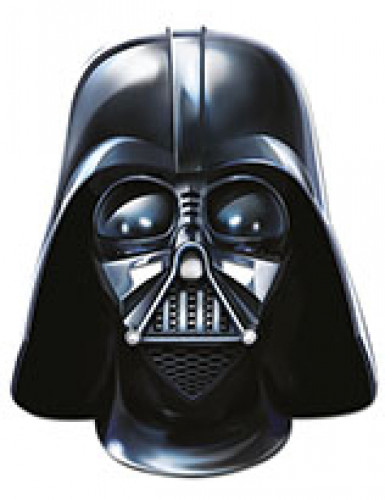 Darth Vador™ Maske aus Hartpappe - Star Wars VII™