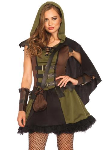 Verkleidung als Waldfrau für Damen-1