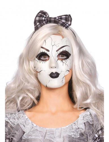 Maske einer Porzellanpuppe