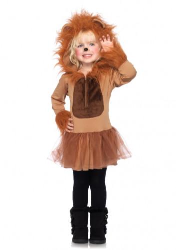 Löwen-Kostüm für Mädchen