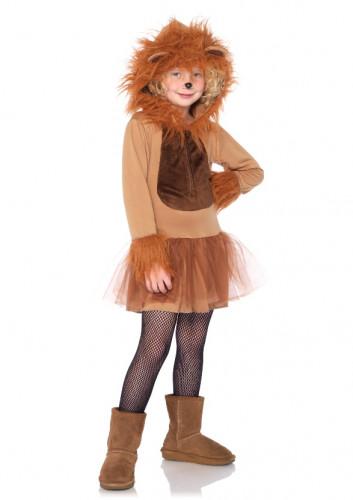 Löwen-Kostüm für Mädchen-1