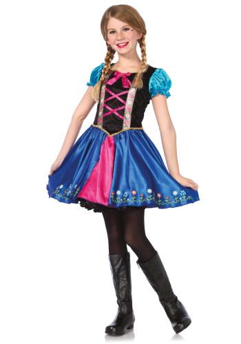 Kostüm Schwester der Eiskönigin für Mädchen
