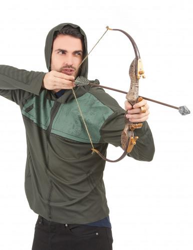 Set Pfeil und Bogen Green Arrow™ für Erwachsene-1
