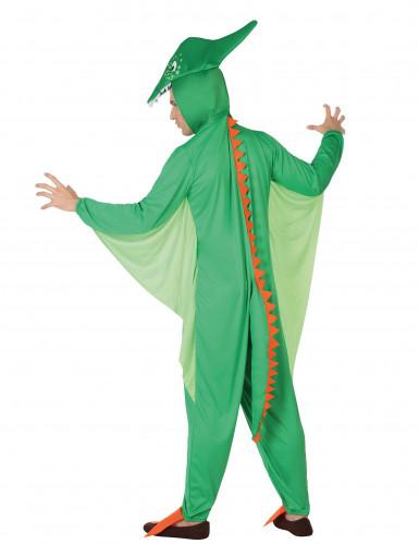 Flug-Dinosaurierkostüm für Männer grün-1