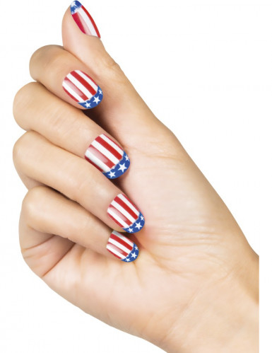 Kunstliche Fingernu00e4gel USA Fu00fcr Damen Schminkeund Gu00fcnstige Faschingskostu00fcme - Vegaoo