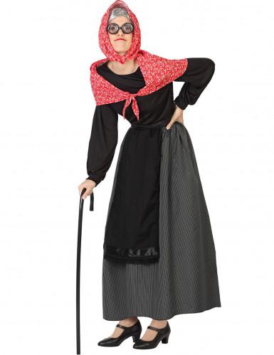 Kostüm einer alten Frau