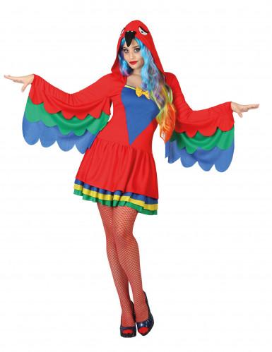 Papagei Kostüm für Damen