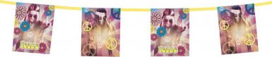 Girlande Hippie Flower Power