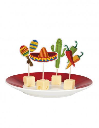 12 Mexiko Zahnstocher
