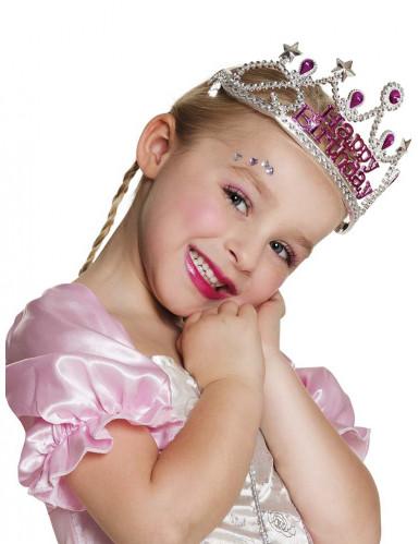 Happy Birthday Geburtstagskrone für Mädchen