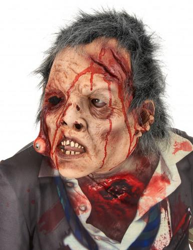 Zombie-Maske mit Haaren-1